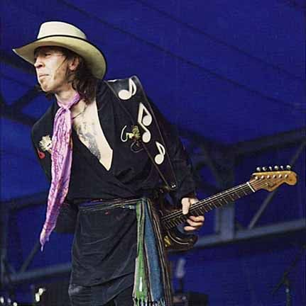 SRV Playing Behind His Back