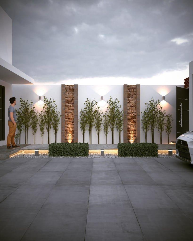 Remodelacion Casa Cz Casas Modernas De Gb Arquitecto Moderno Homify Decoracion De Patio Muros De Jardin Diseno De Patio