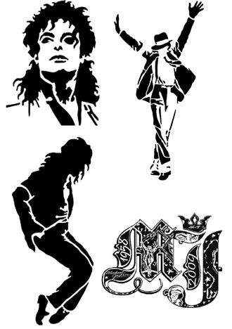Michael jackson tattoos but im thinking i could do this on - Michael jackson coloriage ...