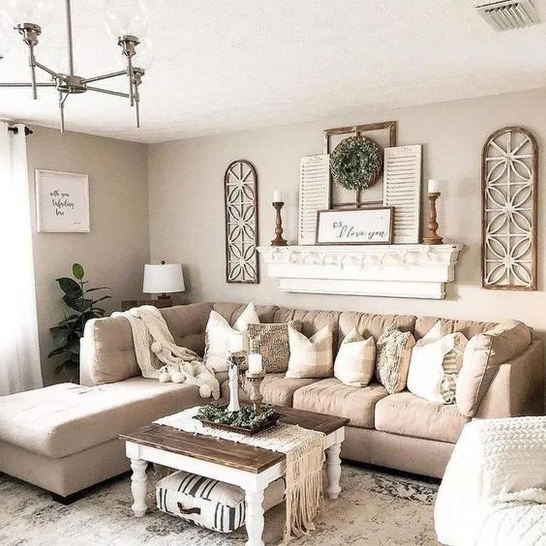Elegant Living Room Wall Decor Ideas, Wall Decor In Living Room