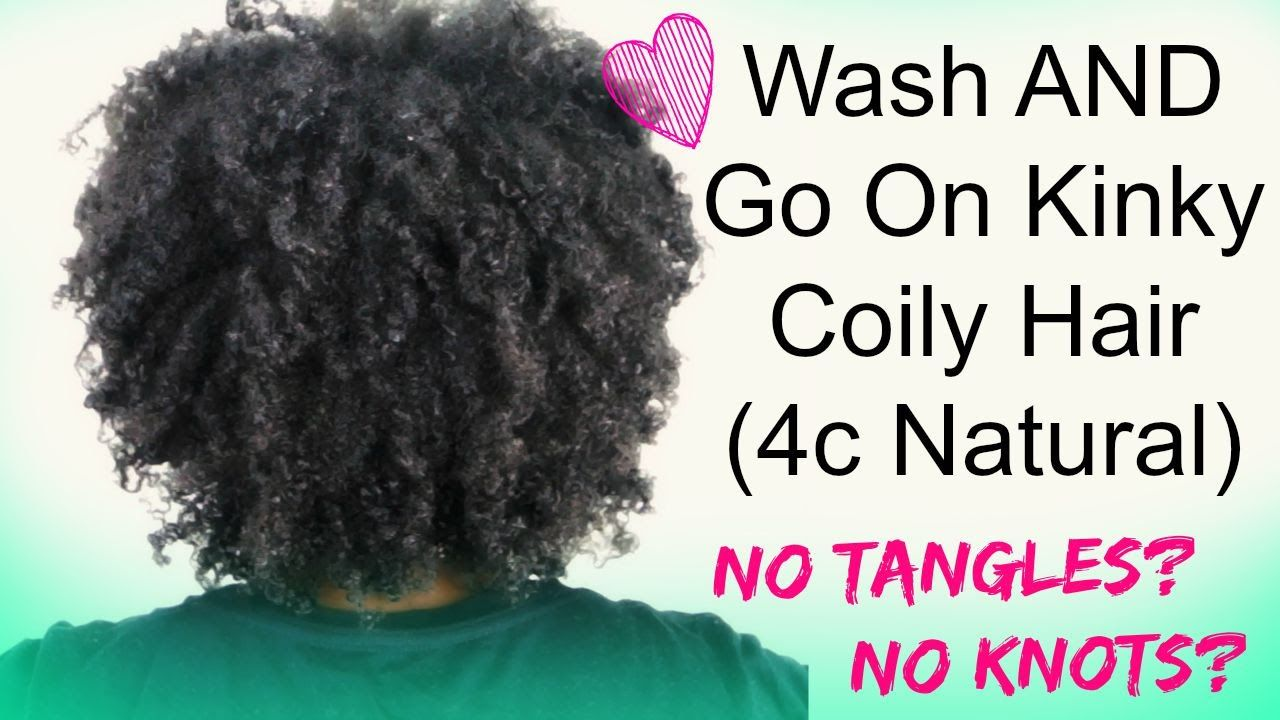 Natural Hair Tutorial Wash And Go On Type 4c Hair Using Tgin Products No Tangles Yall Natural Hair Tutorials 4c Hairstyles Curly Hair Styles Naturally