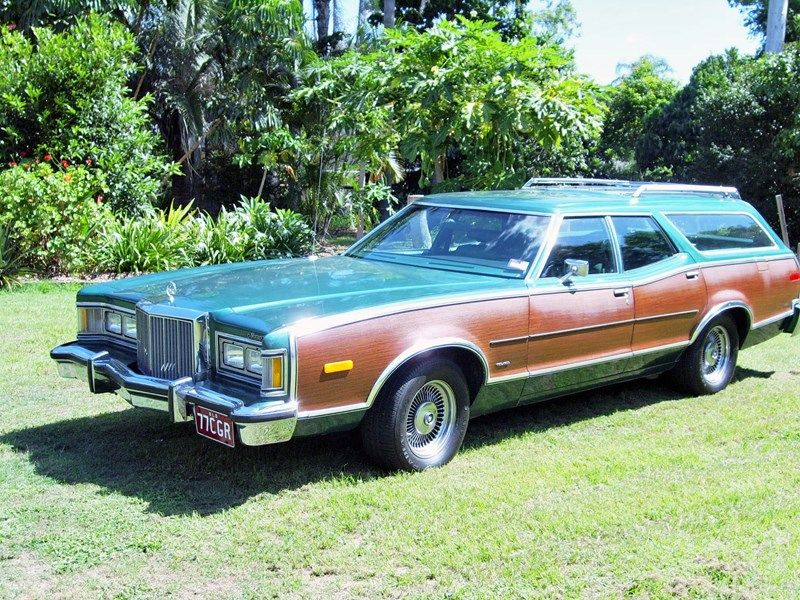 1977 MERCURY COUGAR Villager Brougham Station Wagon for sale ...