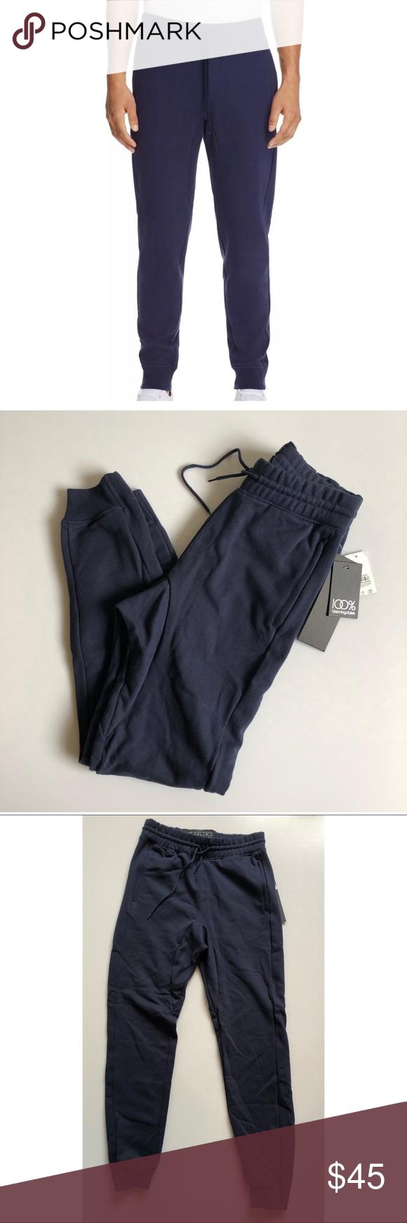 064c7503d18041 New men's The Narrows Navy Blue sweatpants joggers New men's The Narrows  Hidden Welt Pocket Joggers Color: navy blue Drawstring waist 60% cotton /  40% ...