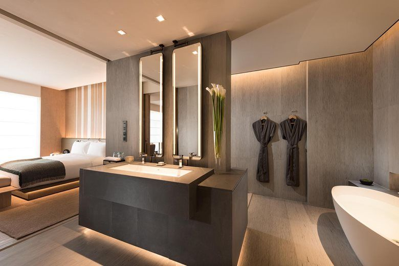Joyze Hotel Xiamen Curio Collection By Hilton Picture Gallery In 2020 Hotels Design Hilton Hotel Design Hotel