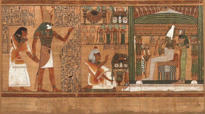 Hallan el primer mapa del inframundo en un sarcófago