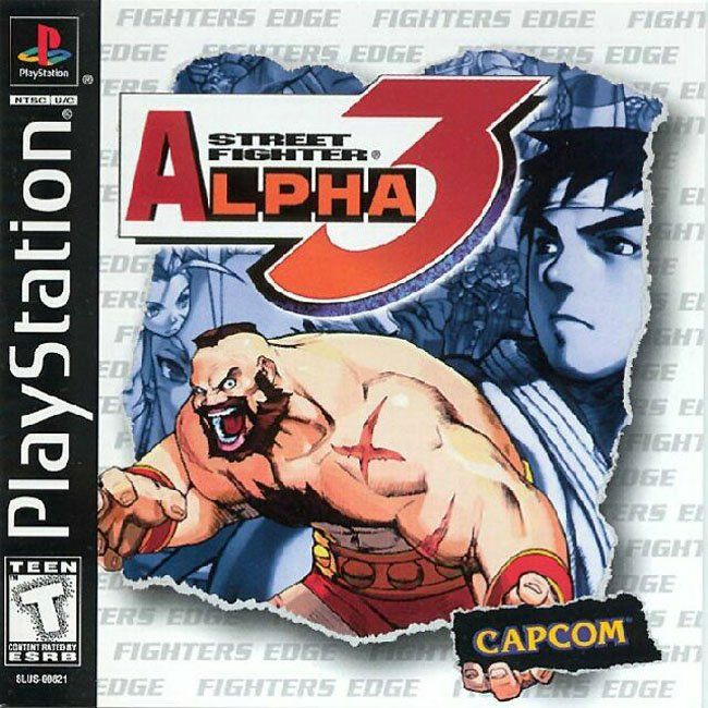 Street Fighter Alpha 3 Sony Playstation Street Fighter Alpha 3