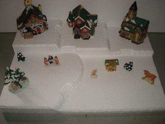 Christmas+Village+Display+Base | Christmas village base platform ...