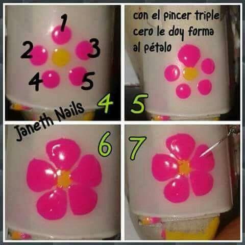 Flor Dios Unhas Desenhadas Adesivos De Unhas Artesanais Unhas Artesanais