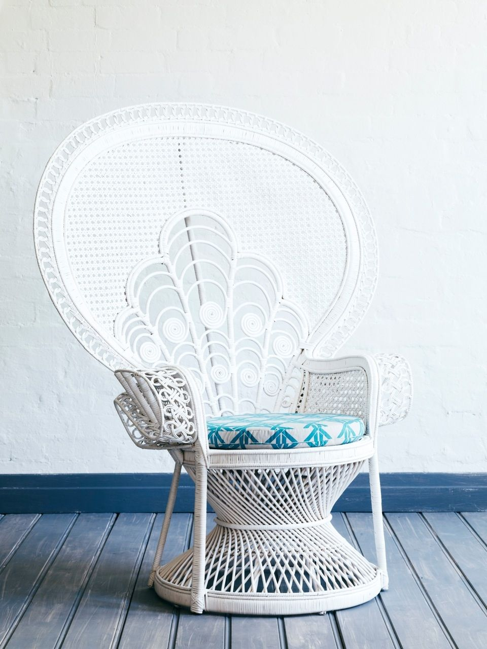 lady peacock rattan chair in white i wanna sit there pinterest