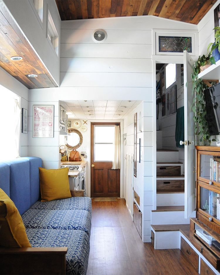 Shalina On Instagram We Ve Been Living In My Tiny House For Over Two Years Now Four Years Since Tiny House Rustic Small House Floor Plans Buy A Tiny House