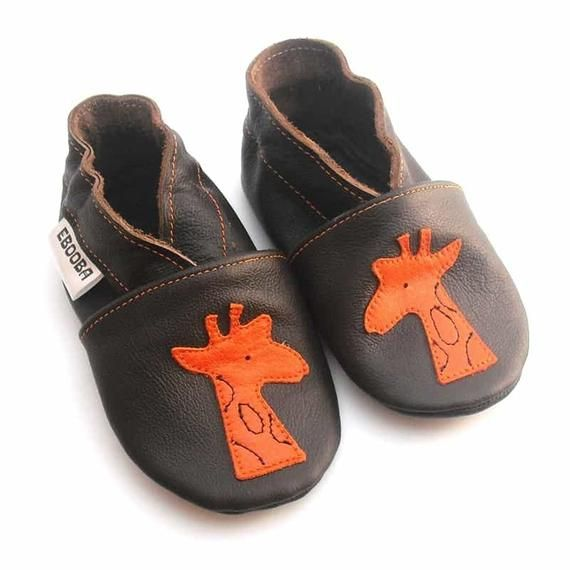 71c09bc0fee55 Beige Baby shoes Giraffe, Leather Baby Shoes, Baby Moccasins Boy ...