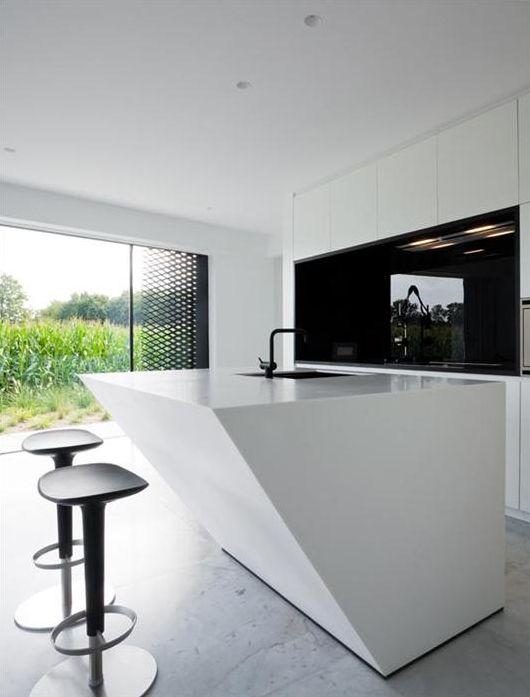 House D&VW, Belgium by Dhoore_Vanweert Architecten | Interior ...