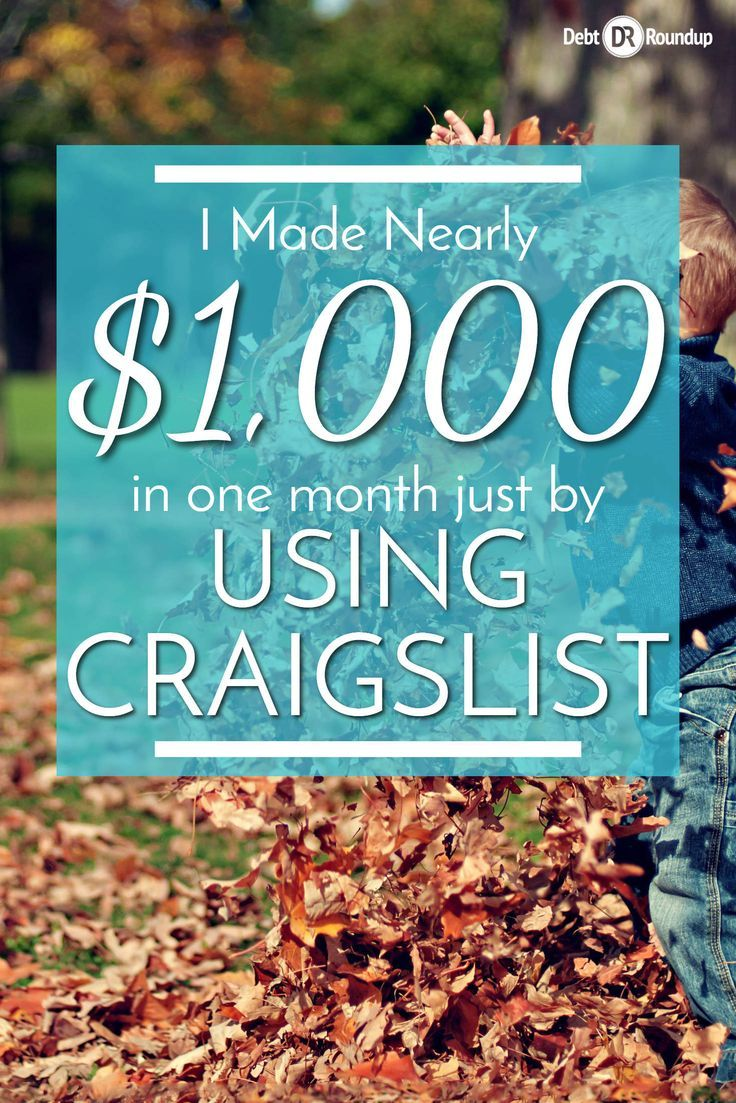How I Made Nearly 1 000 In A Month Using Craigslist Earn More