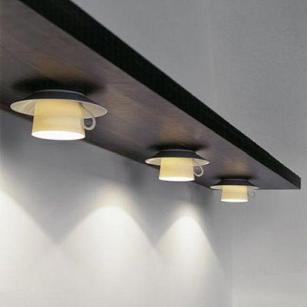Designer Lampe selber bauen - ausgefallene Lampen | Upcycling ...