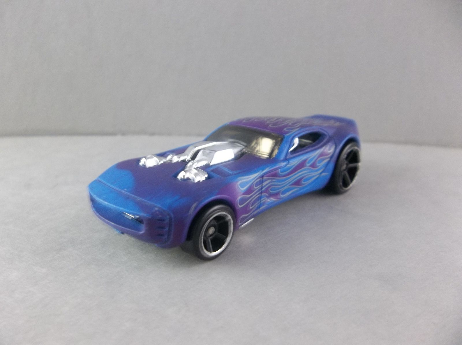 Hot Wheels Nitro Doorslammer Blue Purple Color Shifter With