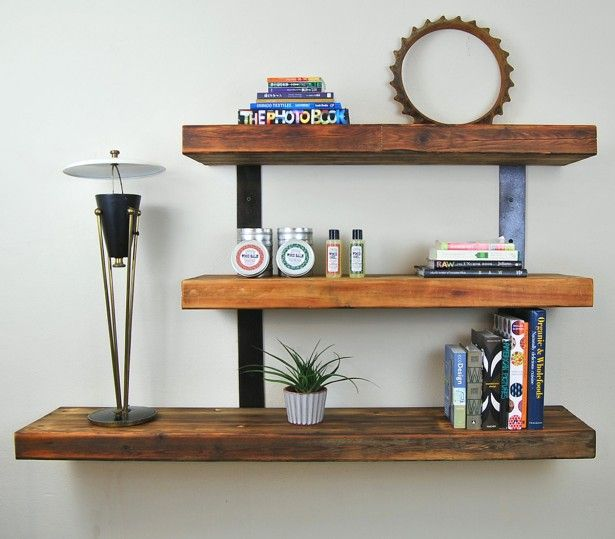 Hanging Shelves Without Studs Ideas