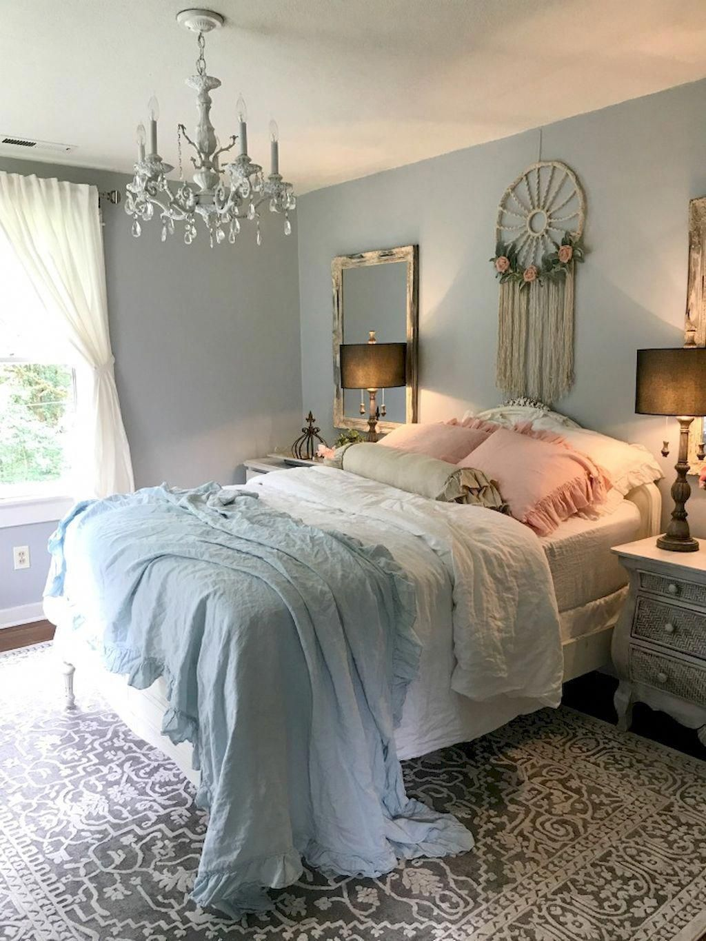wonderful romantic shabby chic bedroom | Romantic Shabby Chic Bedroom Decorating Ideas | Shabby ...