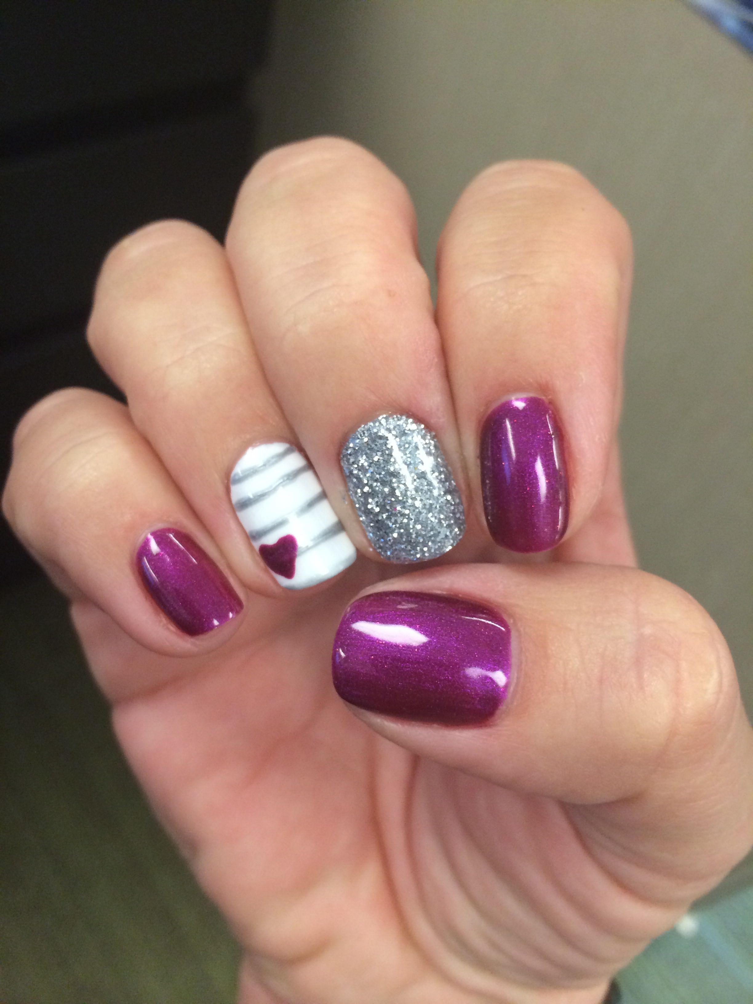 My beautiful nails! No chip Gelish! | My Style | Pinterest | Hair ...