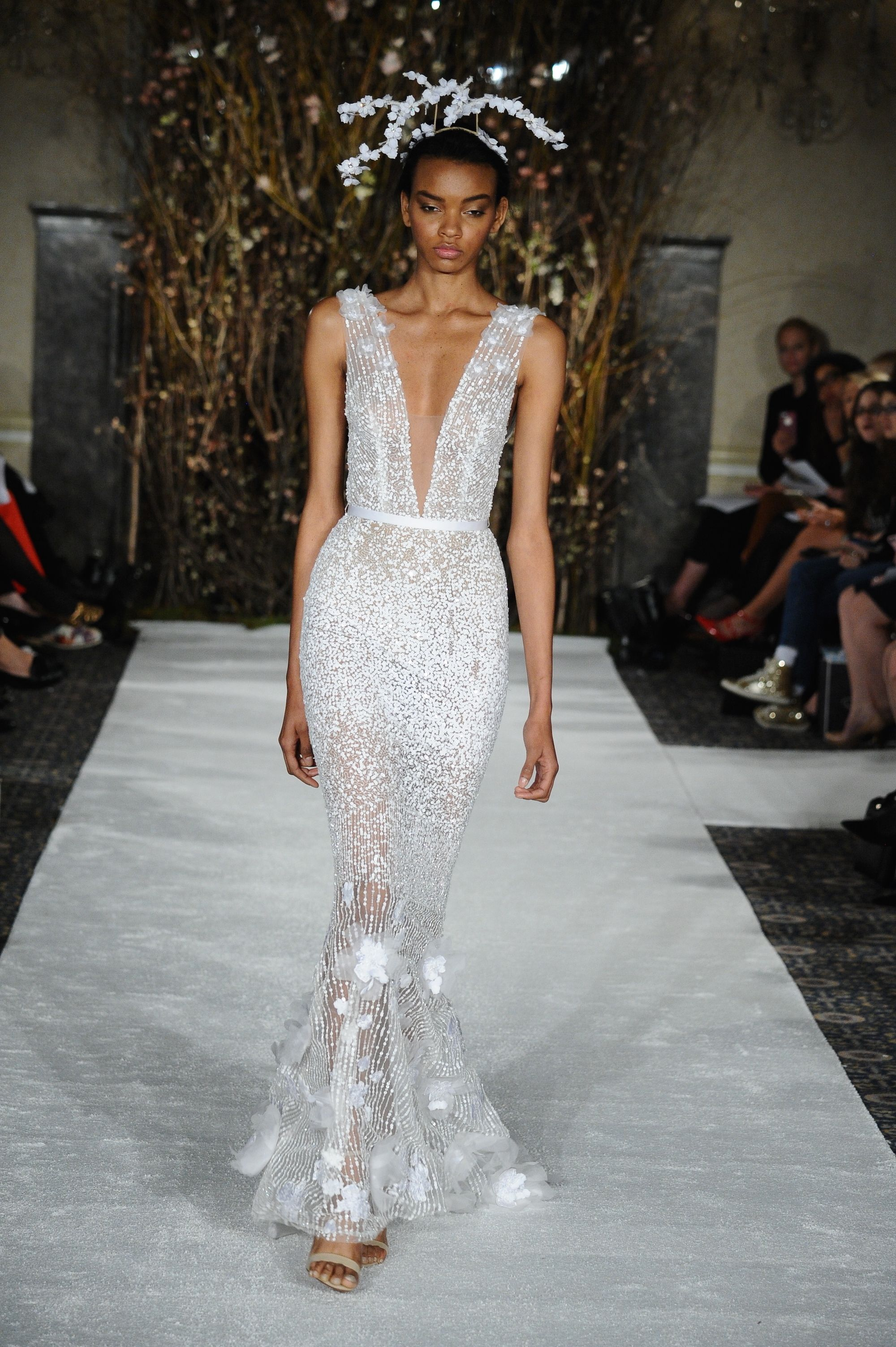9d0f979e75a View entire slideshow  Celebrity Wedding Dress Predictions on  http   www.stylemepretty