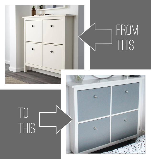 ikea hemnes hack shoe cabinet hemnes upcycle and check