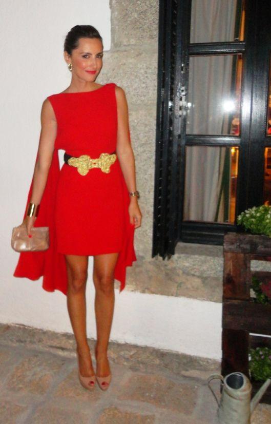rojo pasión! | wedding | pinterest | vestidos de boda invitadas