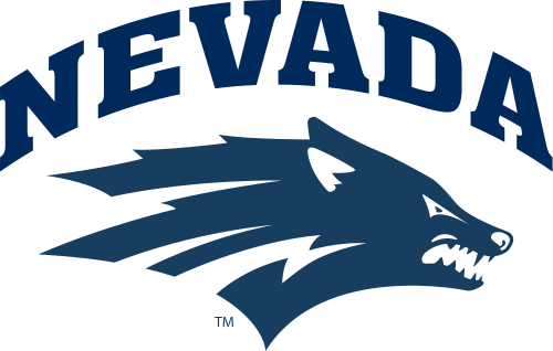 Nevada Wolf Pack Football Team Logo Nevada Wolf Pack University Of Nevada Reno Wolf Pack