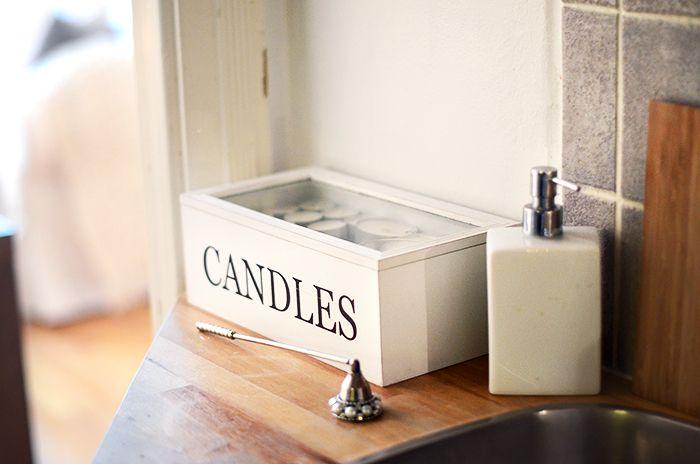 коробка для свечей