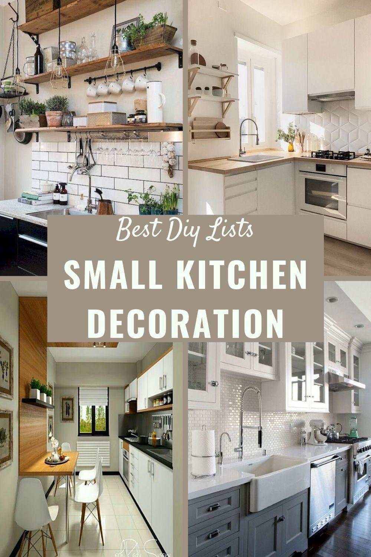 Small Kitchen Decoration Ideas Small Kitchen Decoration Kitchen Decor Kitchen Design Small