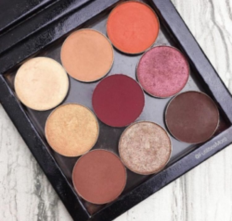 These Are All Makeup Geek Eyeshadows Here The Shade Names Rapunzel Morocco Glamorous