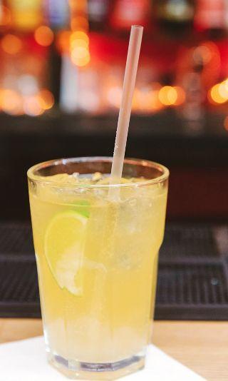 John Collins Cocktail Recipe: - 2 oz Bourbon - 1 oz Fresh Lemon ...