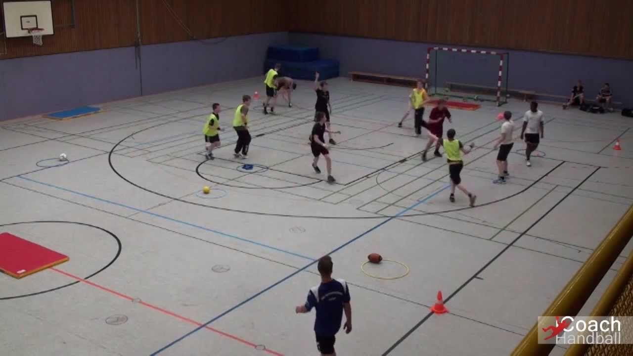 Handball Aufwärmspiel