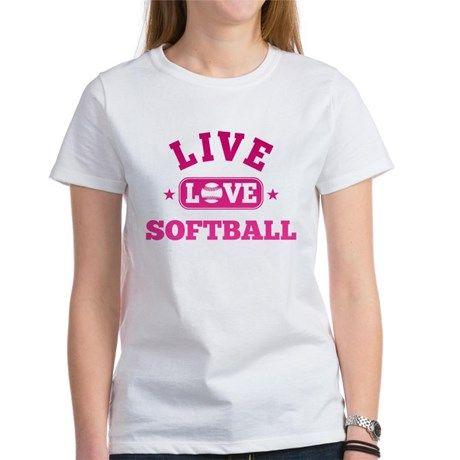 live love softball T-Shirt