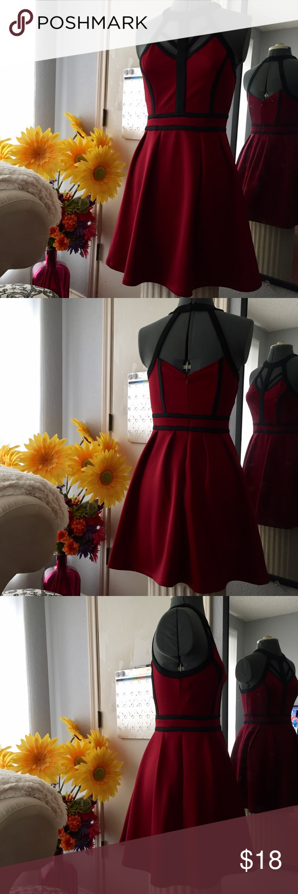 Red mini dress dark red mini dresses and dark