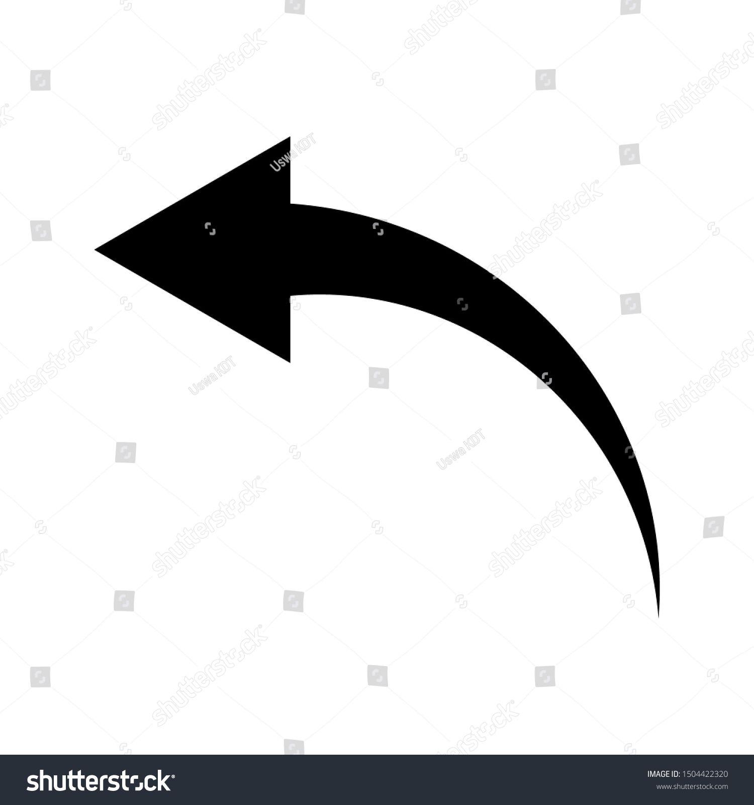 Arrow Icon Illustration Arrow Symbols Icons Stock Vector Royalty Free 1504422320 Icon Illustration Arrow Symbol Symbols