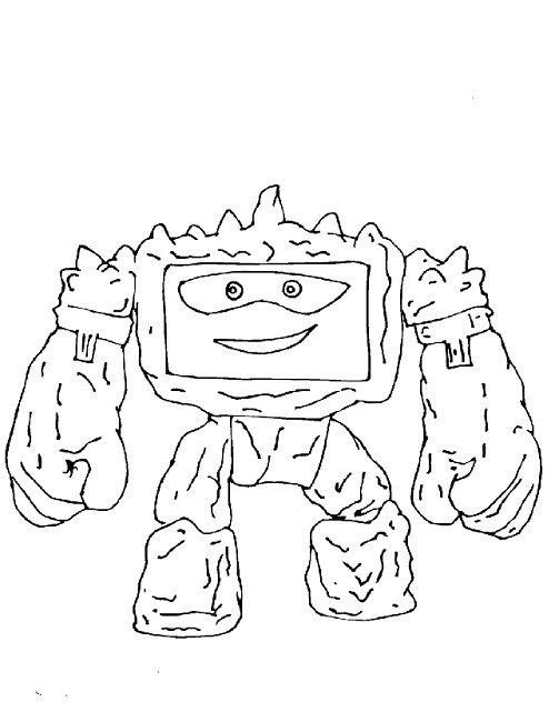 toy story 3 printable coloring pages | toy story 3 chunk coloring page | Disney | Toy story 3 ...