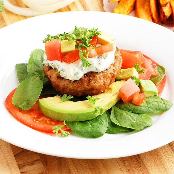 Classic Paleo Turkey Burgers (Healthy & Low Carb)