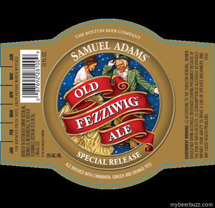 Samuel Adams - Old Fezziwig Ale 2013
