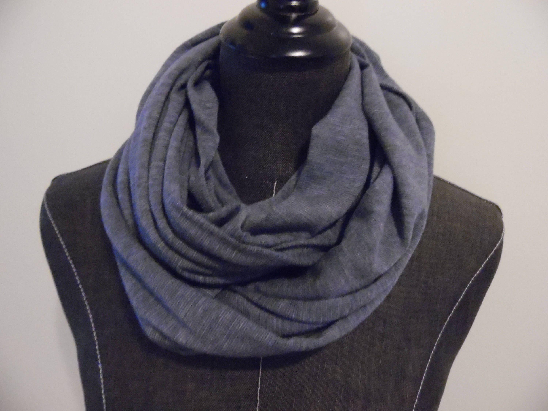 knit grey ombre festotu scarf infinity craftmanship when fashion meets project portfolio