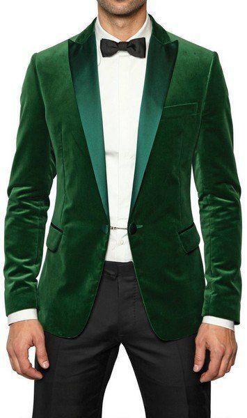 Fancy - Dsquared2 Satin Collar Velvet Tuxedo Jacket in Green for Men   Lyst 52f8a5df7a03