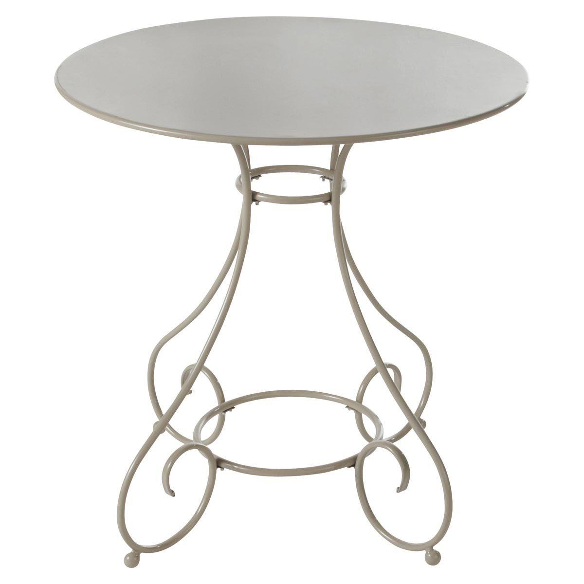 Coin repas | Maisons du Monde | Round garden table, Garden table et ...