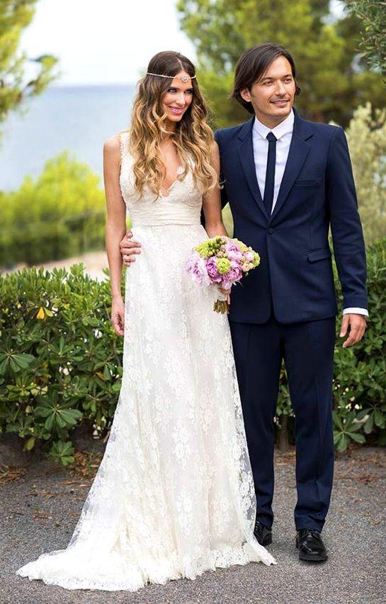 vestido novia vanesa romero | modelitos | vestido novia boho