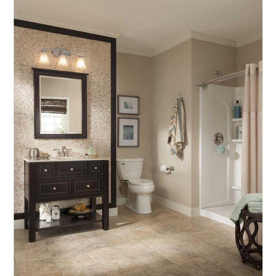 Allen Roth Hagen Espresso Undermount Single Sink BirchPoplar - Allen and roth bathroom vanities for bathroom decor ideas