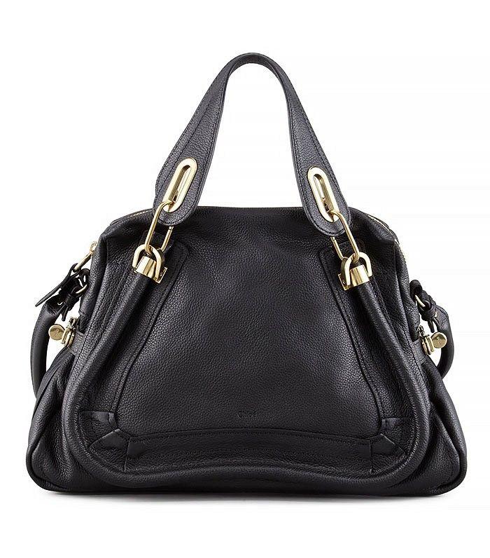 Paraty Shopper Bag in Black via @WhoWhatWear