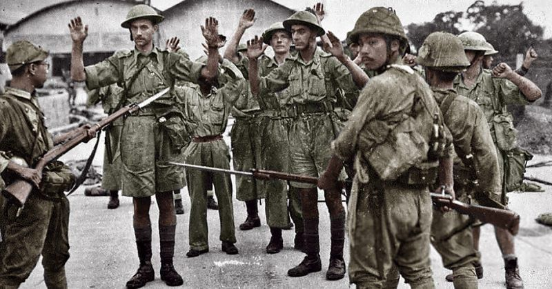 Military Blunders 90 000 Troops Lost In Fall Of Singapore