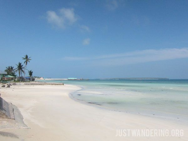 You don't need to spend a lot of money to have the beach to yourself in Bantayan Island, Philippines