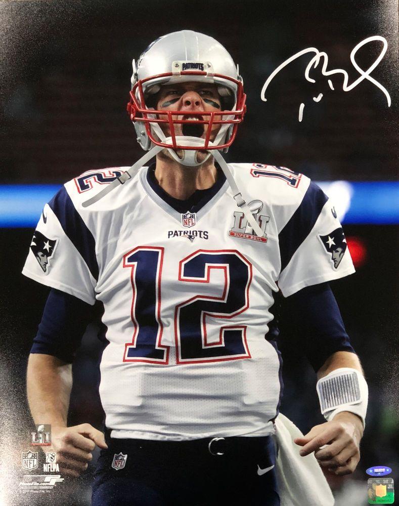 Tom Brady New England Patriots Signed Autographed Scream 16x20 Photo  TRISTAR (eBay Link) 27f67301f
