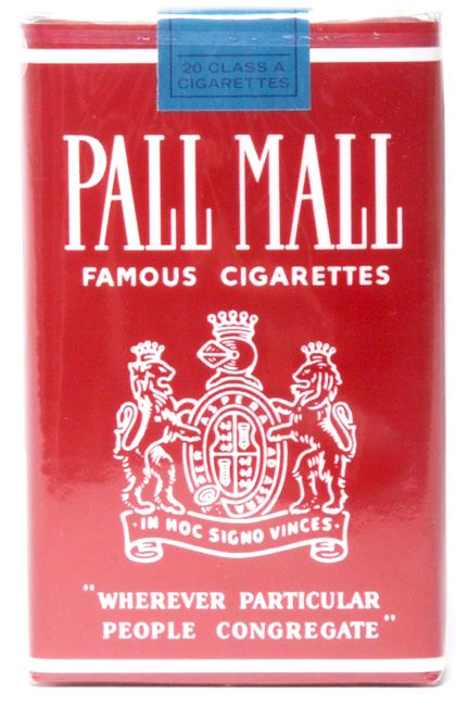 Pall Mall Cigarettes are a brand of Cigarettes produced by R. J. Reynolds Tobacco Company in Winston-Salem, North Carolina. Description from mabusi.atspace.co.uk. I searched for this on bing.com/images