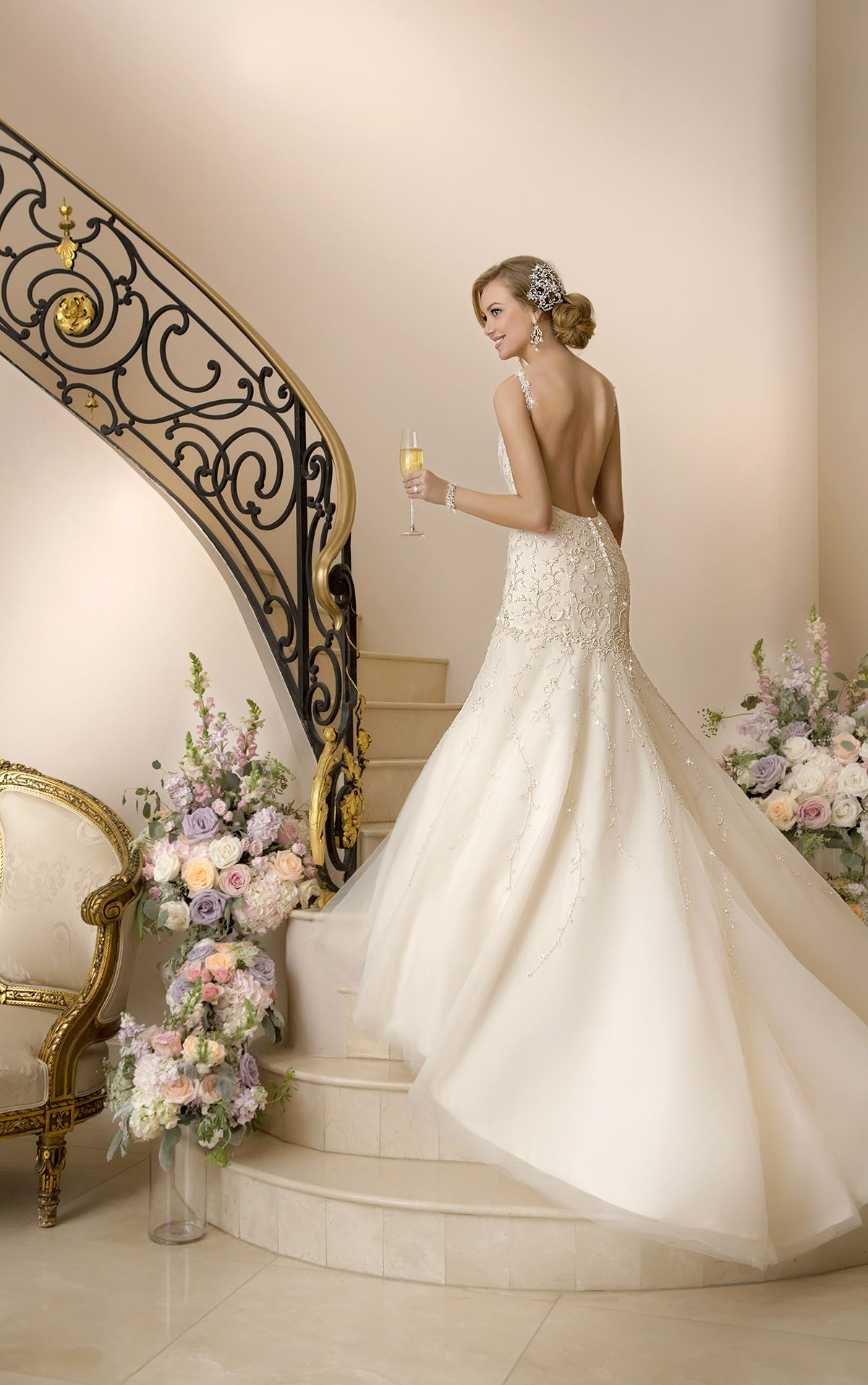 Mod wedding dress  Extravagant Stella York Wedding Dresses  Stella york Wedding dress
