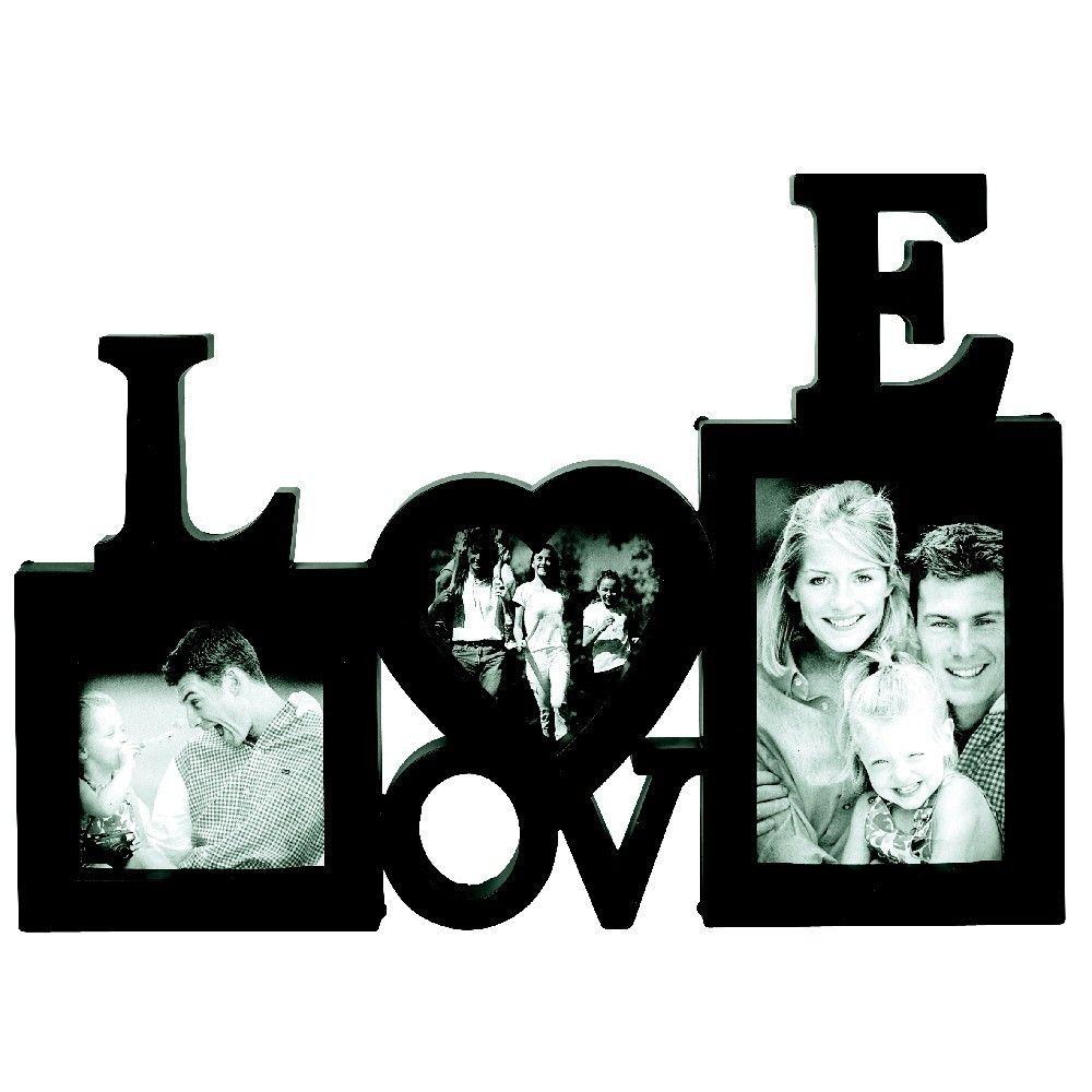 Pele Mele Love 3 Vues Noir Objet Decoration Decoration Romantique Diner En Amoureux