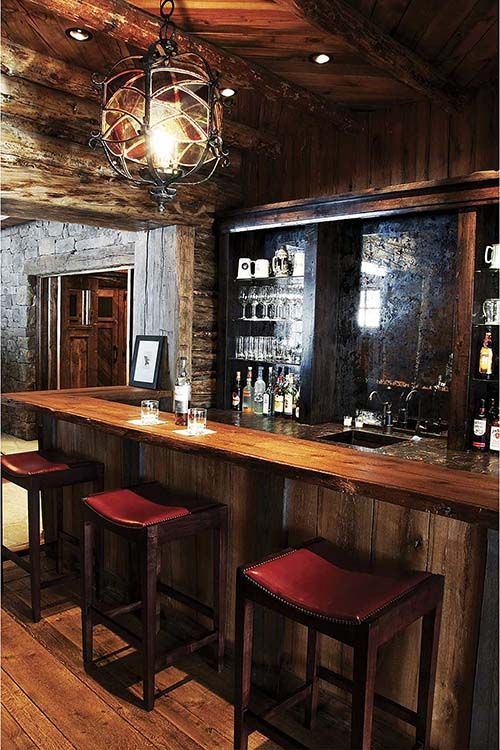 Top 40 Best Home Bar Designs And Ideas For Men: Bars For Home, Home Bar Designs, Basement Bar Designs